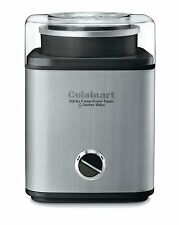 Cuisinart CIM-60PC Stainless 2-Qt Automatic Frozen Yogurt Sorbet Ice Cream Maker