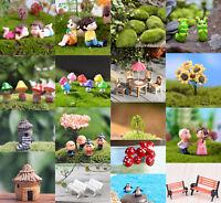 Miniature Landscape Fairy Garden Ornament Pot DIY Craft Accessories Dollhouse
