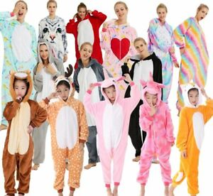 Fanc Dress Cosplay Onsie8 Adult Unisex Hooded Pyjamas Animal Sleepwear Christmas