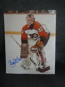 Ron Hextall signed 8x10 Photo w/COA Philadelphia Flyers