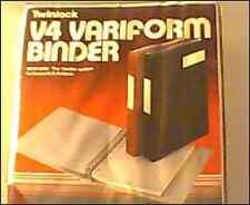 Twinlock A4 variform Binder 75149-Bordeaux-Articolo di qualità per un facile sistema di contabilità