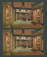 Alderman's Walk Castle Museum  unused  postcards.   ab32