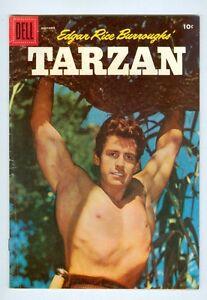 Tarzan #86 November 1956 VG Photo cover