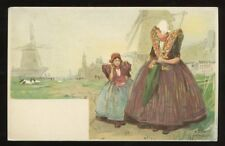 Netherlands Axel H CASSIERS artist Chromo Litho early u/b PPC
