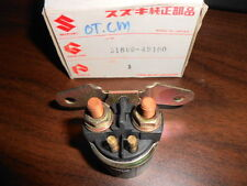 NOS Suzuki OEM Starter Switch Relay GSXR1100 GSXR750 VS1400 31800-49100
