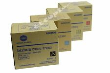 TNP48 CMYK Genuine konica Minolta Lot Of 4 Set Toner for Bizhub C3350 C385