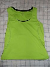 Cascade Sport Womens Small Lime Green Athletic Tank Top