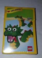 Lego I Love Orlando Loch Ness Monster Playing Cards #6039426
