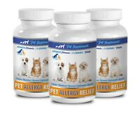 itch relief dogs -ALLERGY RELIEF FOR DOGS AND CATS 3B- dog skin itch supplement