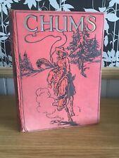 Chums Annual1939 Hardback Vintage With Coloured Plates