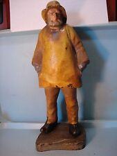 "Old Salt, Full Figure Cast Iron Door Stop Eastern Specialty Co. 14 3/4"" Pristine"