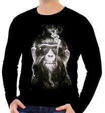 Markenlose Affen Herren-T-Shirts in normaler Größe