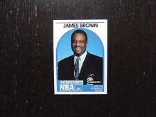 1989 1990 NBA Hoops Announcer Card James Brown Promo Basketball Card CBS Sports