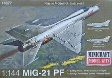 MINICRAFT 14677 MiG-21 PF (North Vietnam / USSR) in 1:144
