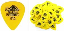 Jim Dunlop Guitar Tortex Picks .73 mm Yellow 72 Pack Standard 418R73 Plectrums