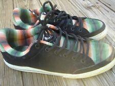 mens Circa skateboards lopez lowtop shoes USA size 13 M leather rasta dvs supra