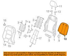 AUDI OEM 15-16 A3 Front Seat-Seat Back Panel Trim 8V0881969COIS