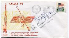 1969 OGO VI Solar Wind Earth Aurora Polar Evenets Vandenebrg NASA USA SAT SIGNED