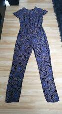 Ladies Paisley Pattern Jumpsuit UK Size 8