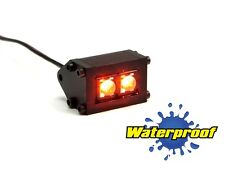 Gear Head RC 1/10 Scale Trail Pod Water Proof LED Lightbar - AMBER (1) GEA1168