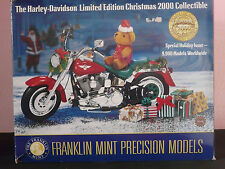 Franklin Mint Harley-Davidson Christmas Motorcycle 2000 Limited Edition 1:10