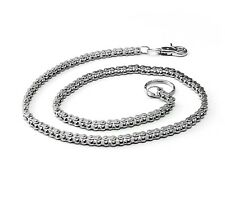 Cool Mens Silver Tone Motorcycle Bike Chain Biker Wallet Chain Pant Keychain