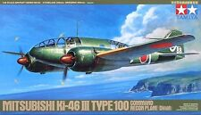 MITSUBISHI Ki-46 III TYPE 100 (DINAH) TAMIYA 1/48 PLASTIC KIT