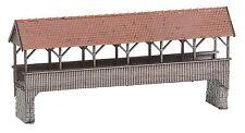 Faller 222574 Spur N, Überdachte Fußgängerbrücke, Epoche I, Bausatz, Neu
