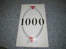 VINTAGE MARTIN BAKER AIRCRAFT 1000 LIVES SAVED BY EJECTION SEATS 1965 PAMPHLET