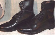 New EQUISTAR Youth Lace Paddock Boot Size 1 Leather Black