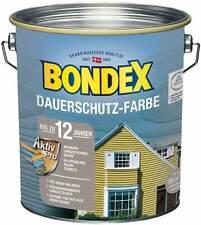 BONDEX Dauerschutz Farbe Außen Holzfarbe, 2,5l, 11Farben, hochdeckend
