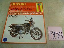 Suzuki 1000 GS GS1000 Four Used Haynes Service Shop Manual 1977 On #VP-MAN359