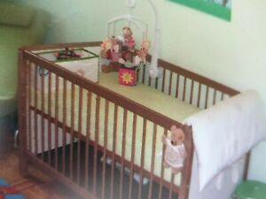 Babybett / Kinderbett Leo von Paidi 70x140 cm mit Umbauseiten und Lattenrost 👌