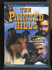 Lassie - The Painted Hills DVD 2006 smart dog action Movie gold prospectors New