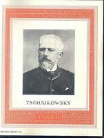 Tschaikowsky -  für Klavier