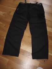 PANTALON MODULABLE NOIR QUESHUA DECATHLON