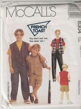 Pants and Skirt   Sewing Pattern Top McCall/'s 8413 Girls/' Lined Vest