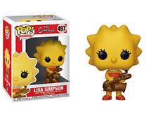"""SIMPSONS Series 2 Lisa Simpson (Saxophone VINYL 4"""" FIGURE  FUNKO POP ANIMATION"""
