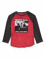 Toddler Beastie Boys Band T-Shirt Check Your Head Long Sleeve Raglan Burnout