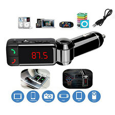 Car Kit MP3 Music Player Wireless Bluetooth With 2 USB Port FM Transmitter Radio