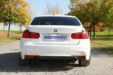 Eisenmann exhaust rear section for BMW F30 335i, 4 x 76mm tailpipes