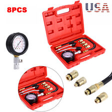 Professional Petrol Gas Engine Cylinder Compression Tester Gauge Kit Auto Tool