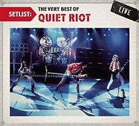 *NEW* CD Album Quiet Riot - Setlist Very best of Live  (Mini LP Style Card Case)