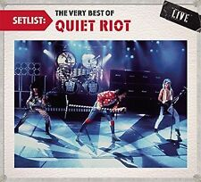 *NEW* CD Album Quiet Riot - Setlist Very best of Live  (Mini LP Style Card Case)