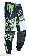 New Wulfsport (Sz 36) Motocross Enduro Pants Trousers Green Kx Kxf Klx Kdx Kl