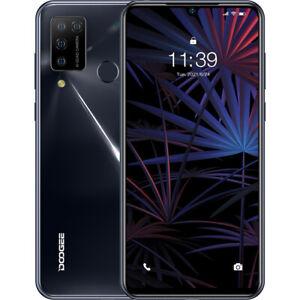 DOOGEE N20 Pro 4G Unlocked Android10 Mobile Smart Phone Dual SIM Octa Core Black