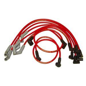 Taylor Spark Plug Wire Set 84264; ThunderVolt 8.2mm Red 135¡ for Ford 6 Cylinder