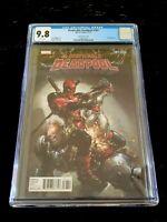 Despicable Deadpool #287 Clayton Crain 1:25 Variant  CGC 9.8