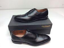 Allen Edmonds Fifth Avenue Black Custom Calf Oxford Dress Mens Size 12 B