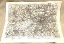 More details for 1940 ww2 map of bolton manchester stockport oldham military war office issue